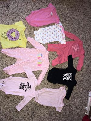 BABY GIRL CLOTHES!! for Sale in Lancaster, OH