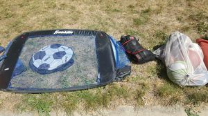 Soccer goal, tennis rackets, baseball bats, super soakers for Sale in Longmont, CO