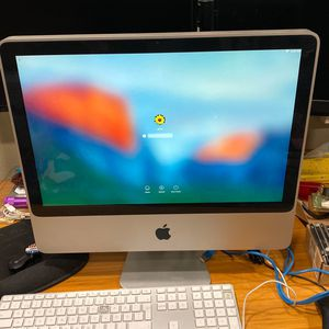 Apple iMac All-in-One Desktop 4GB 250GB MacOS 10.11.6 for Sale in Rancho Cucamonga, CA