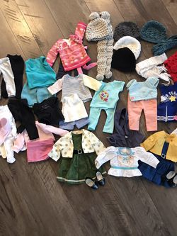"""Doll Clothes and Accessories For 18"""" Doll for Sale in Oakdale,  CA"""