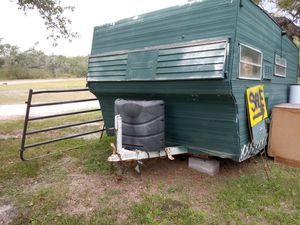 Salvaged Homebuilt camping trailer as is $500 for Sale in Rockport, TX