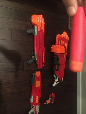 Lot of Nerf Guns for Sale in Kirkland, WA