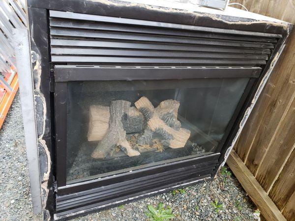 Gas Fireplace Insert Dormont Mfg Co Model 10 For Sale In