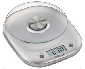 Taylor 11lb glass platform digital food scale for Sale in Indianapolis, IN
