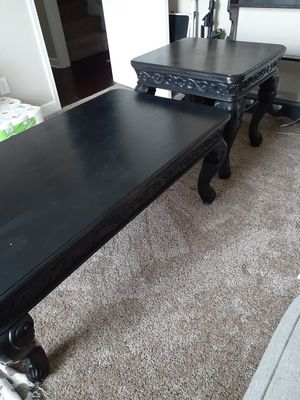 Coffee Table and End Table for Sale in Murfreesboro, TN