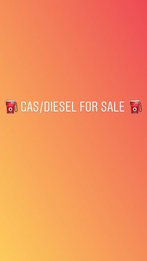 GAS/DIESEL GAS FOR SALE for Sale in San Francisco, CA