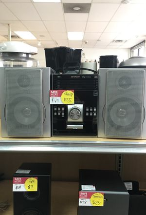 SHARP HOME STEREO SYSTEM for Sale in Chicago, IL