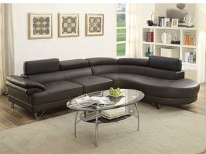 Sectional sofa abd and chase 2 pc set for Sale in Friant, CA
