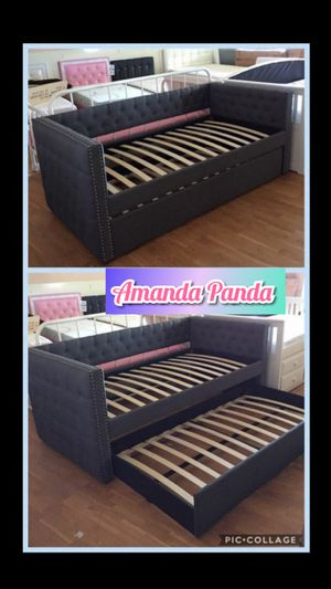 Twin day bed with trundle for Sale in Peoria, AZ