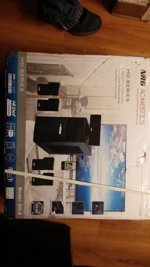 Stereo surround sound system for Sale in St. Louis, MO