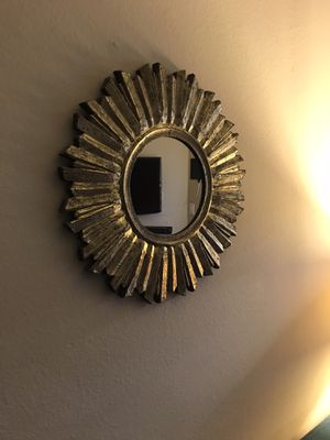 "Gold mirror 18"" for Sale in Los Angeles, CA"