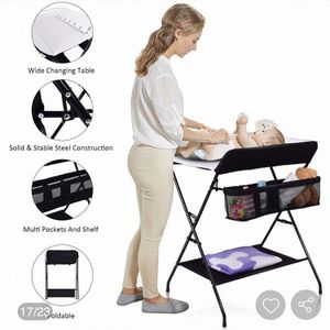 New! Baby Storage Folding Diaper Changing Table for Sale in Lawndale, CA