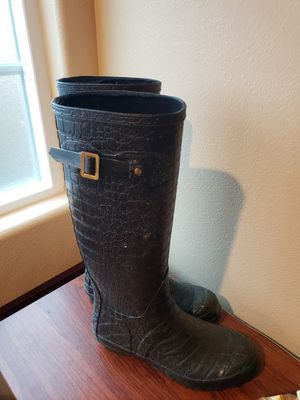 Womens rain boits size 8 for Sale in Westminster, CA