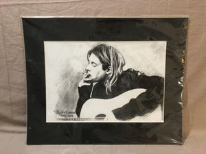 A hand drawn picture of ( Kurt Cobain ). This is a copy for Sale in Vacaville, CA