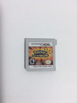 Authentic Pokémon Ultra Sun for Sale in Scottsdale, AZ