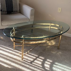 Glass Coffee Table for Sale in Arlington, VA