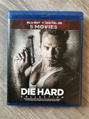 Die Hard 5 movie collection Blu Ray for Sale in Bremerton, WA
