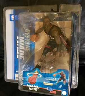 2005 McFarlane NBA Series 9,Dwayne Wade action figure for Sale in Miami, FL