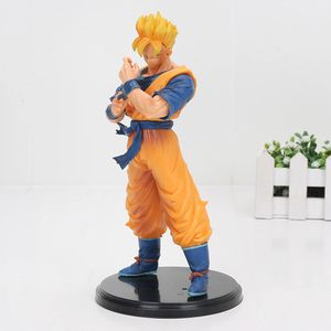 "8"" Cartoon Dragon Ball Z Super Saiyan Son Goku gohan Resolution Of Soldiers PVC Action Figure Toy Dragon Ball Z figures for Sale in Annville, PA"