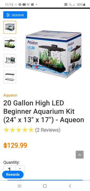 20 Gallon Aquarium Kit -New for Sale in Dearborn Heights, MI