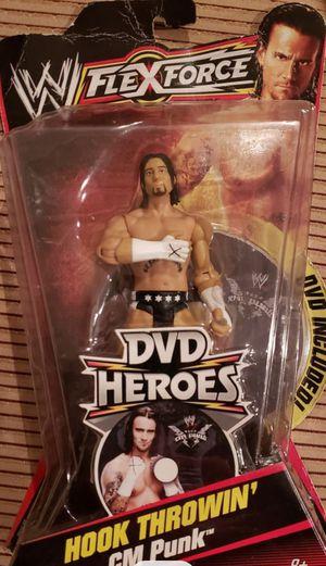 New WWE CM PUNK Action Figure. for Sale in Apopka, FL