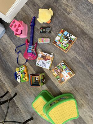 Kids toys and step stools. for Sale in Antioch, CA