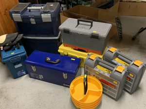 Misc. Size Tool Boxes for Sale for Sale in Kent, WA