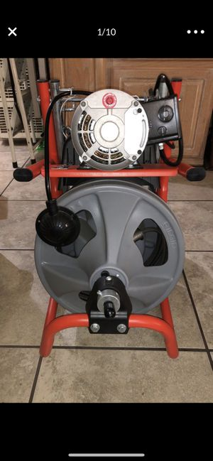 New 120 volt K400 Drain Cleaning Machine Ridgid for Sale in Los Angeles, CA
