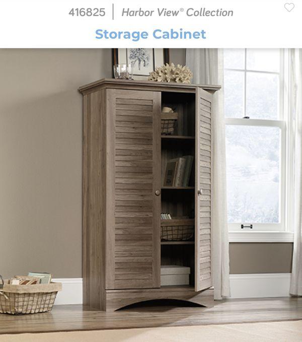 NEW Sauder Storage cabinet 416825