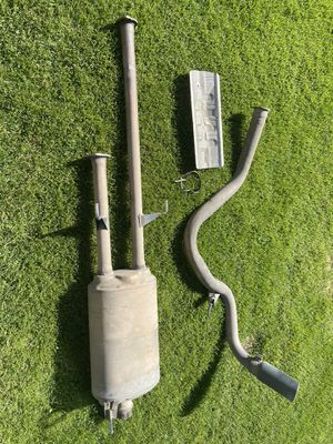 Exhaust from 2019 Toyota Tundra SR5 Crewmax for Sale in Butte, MT