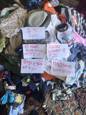 Kids cloths , boys and girls some with tags $30 for Sale in Oakley, CA