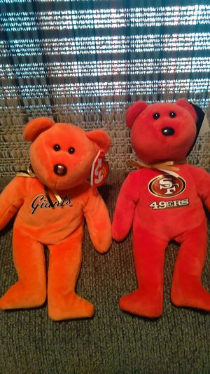 Giants and 49ers beanie babies for Sale in Sunnyvale, CA