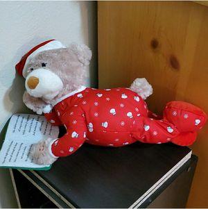 Movable Christmas Teddy Bear for Sale in Highland, CA