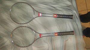 2 Wilson t3000 tennis rackets for Sale in Las Vegas, NV