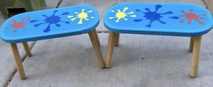 Pair of Kids Wooden Stools for Sale in Glendale, AZ