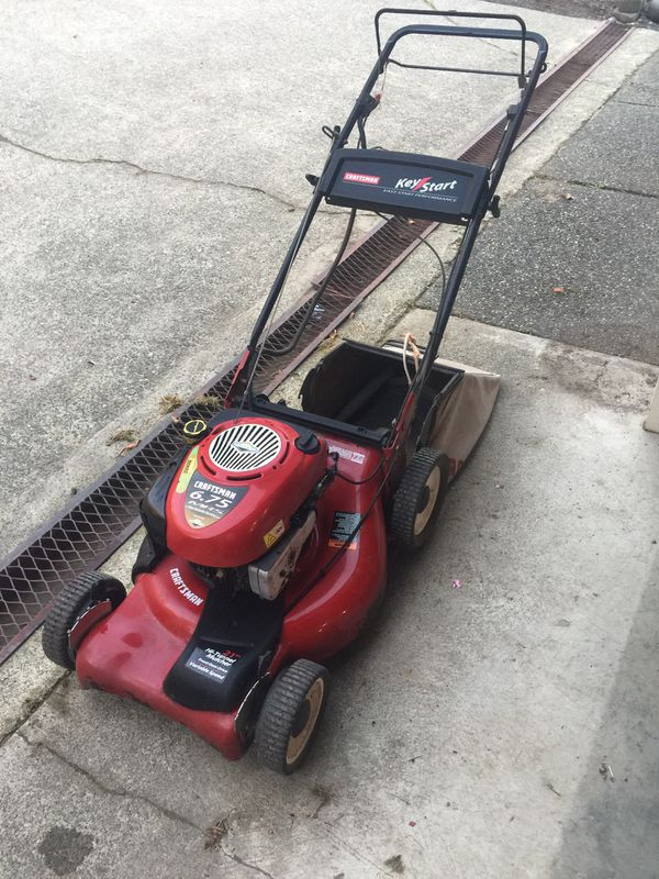 6 75 HP self-propelled Craftsman Lawn Mower for Sale in Bremerton, WA -  OfferUp