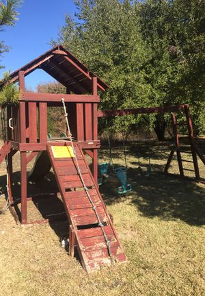 Swing Set Playhouse for Sale in McKinney, TX
