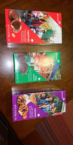 Girl Scout cookies for Sale in NJ, US