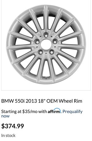 BMW OEM Rims!(4) Set $350 for all 4! Obo for Sale in Tacoma, WA