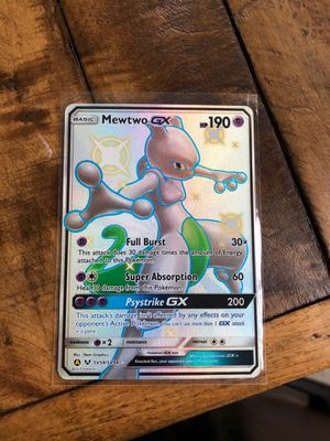 Pokemon Hidden Fates Mewtwo for Sale in Swatara, PA