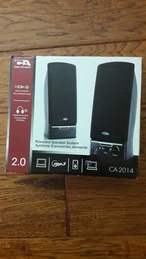 Speakers for a laptop, phone, or mp3 for Sale in Ripon, CA