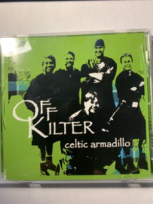 Off Kilter - Celtic armadillo cd for Sale in Highland, IL