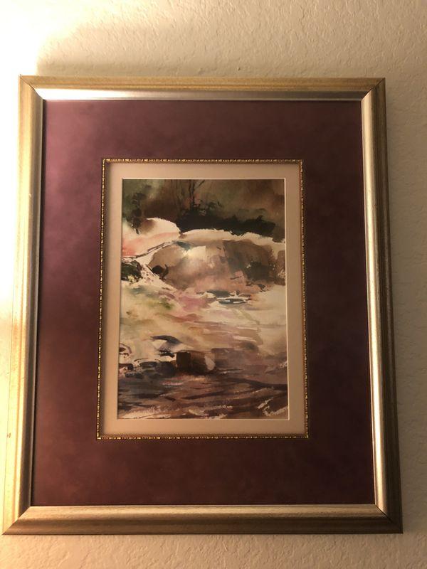 Two EinHorn paintings