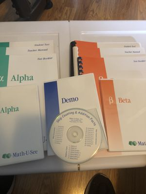 Math-U-See Alpha & Beta complete Sets for Sale in Pompano Beach, FL
