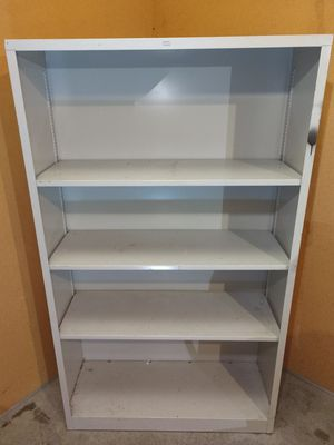 HON Metal Bookcase - Storage Shelves for Sale in Edgewood, WA