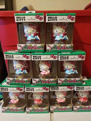 Hello kitty ornaments for Sale in Fresno, CA