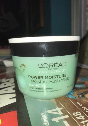 L'Oréal power moisture rush mask hyaluronic for Sale in Tempe, AZ