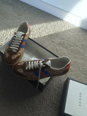 Original Gucci shoes size 11 in men, includes Receipt, Box& Bag for Sale in San Diego, CA