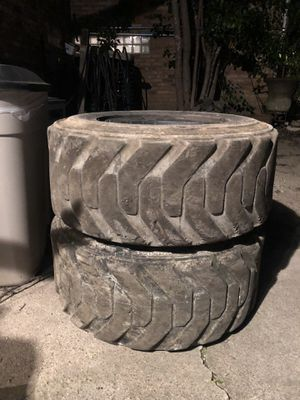 Skid-Steer Tires (4) for Sale in Dallas, TX