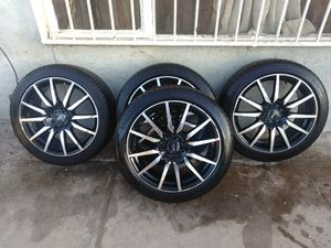Mb Stryker rims and tires for Sale in North Las Vegas, NV